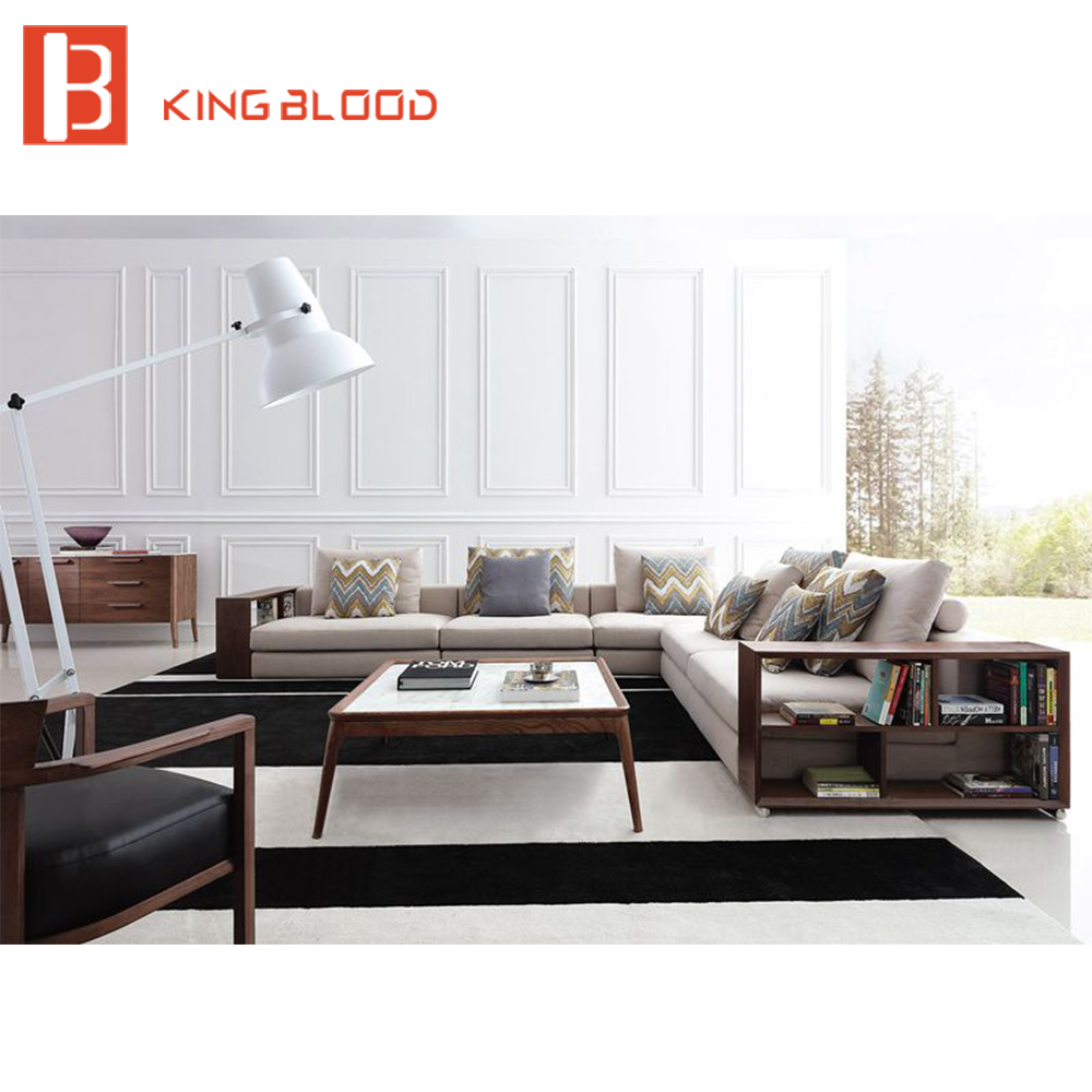 Simple mid century modern wooden designs living room for Mid century modern living room furniture