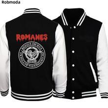 дешево!  SPQR Римский Золотой Орел Новая Мода Мужчины Бейсбол Куртка Индивидуальный Дизайн Толстовка Спортивн
