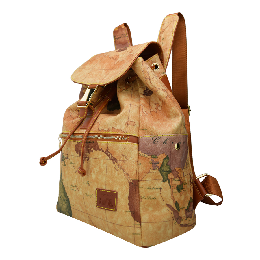 High quality world map backpack special women backpack fashion high quality world map backpack special women backpack fashion leather backpack travel backpack in backpacks from luggage bags on aliexpress alibaba gumiabroncs Image collections