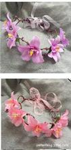 summer Newest younger Girls flower headband wreath Headdress Garlands wedding Bridal Photography festival holiday headwear