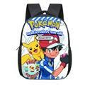 Горячая Мода Аниме Покемон рюкзак Детская школьная сумка с рисунком Пикачу школьные рюкзаки для девочек и мальчиков сумка для малышей Детс...
