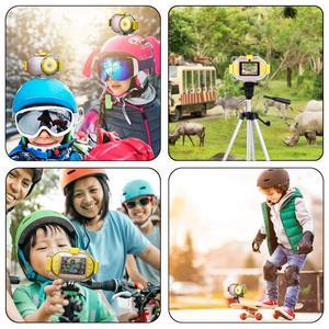 Image 4 - Professional Kids Camera Digital Wifi SLR Mini Camcorder Point Diving Dual Lens 8MP 2.4inch Full HD Shockproof Boys Girls Camera