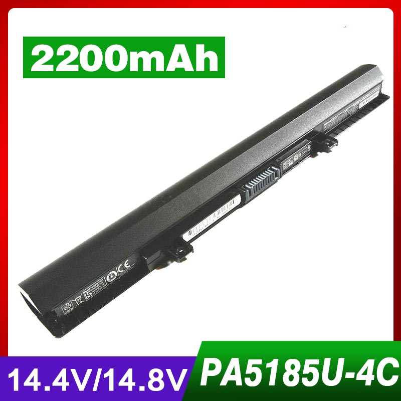 4 Cell Laptop Battery For TOSHIBA Satellite C50 C55 C55D C55T L55 L55D L55T PA5185U PA5185U-1BRS Series free shipping v000325140 for toshiba satellite c55 c55d c55t c55dt c55t a laptop motherboard all functions 100