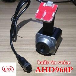 Samochód HD kamera cofania 960 H samochód widok z tyłu obrazu elewacji frontowej kamera system NTSC/PAL