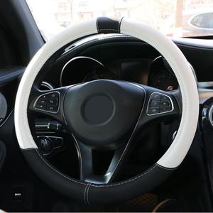 Image 3 - O SHI AUTO Lenkrad Abdeckung Schöne/Auto Steering Rad Fall Protector Universal 38cm für Auto, lkw, SUV,etc. fabrik direkt
