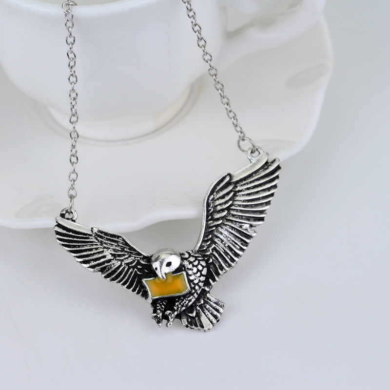 Brand new Owl Messager Pendant Necklace Necklace For Women And Men Trendy