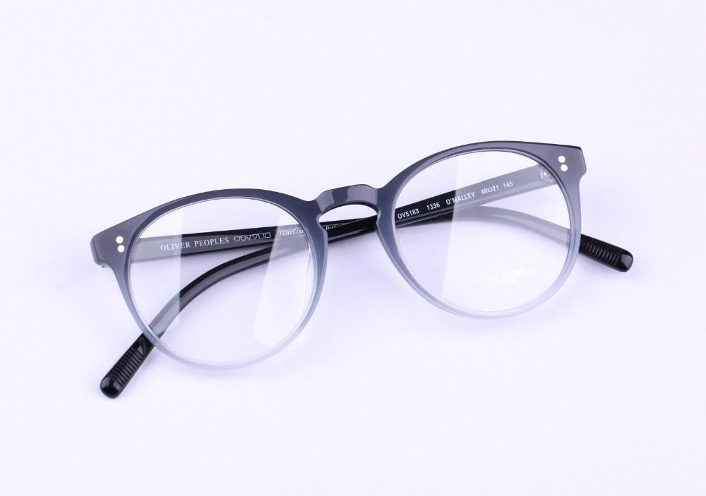 4a6f50e558 Vintage optical eyeglass oliver peoples OV 5183 O  malley Vintage Myopia Glasses  Frame Men and Women eyewear frames-in Eyewear Frames from Apparel ...