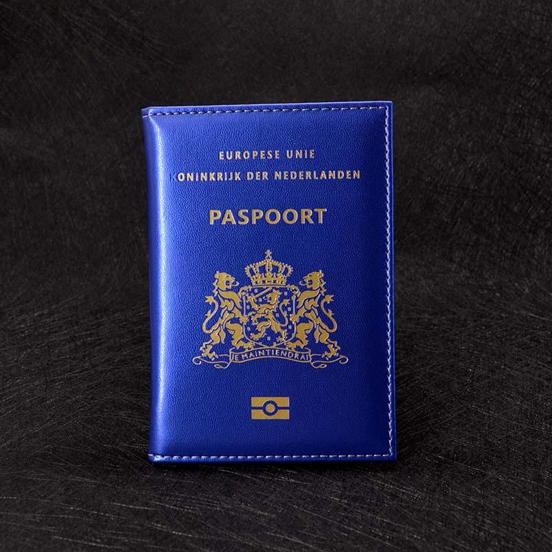PU Leather Case Netherland Passport Holder Dutch Identification Cover Holland