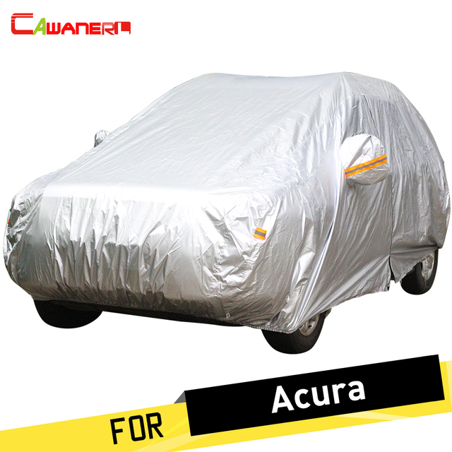 Cawanerl Car Cover Outdoor Indoor Vehicle Sun Anti Uv Rain Snow