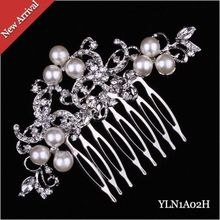 2016 New Wedding Bridal Hair Comb Jewelry Pearl Crystal Tiaras women Hair Accessories Bride Hair Combs In Stock