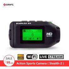 Оригинальный Drift невидимка-2 экшн-камеры Мотоцикл Велосипед Go велосипед Pro Шлем Спорт DV камеры WIFI мини видеокамеры smart Мото DVR