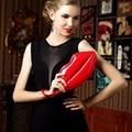 Fashion Sexy Women Lady Clutch Chain Shoulder Handbags Evening Bag Red Lips Shape Purse Women Messenger Bags Wedding Party Bag
