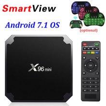 X96 mini font b Android b font 7 1 Smart font b TV b font font