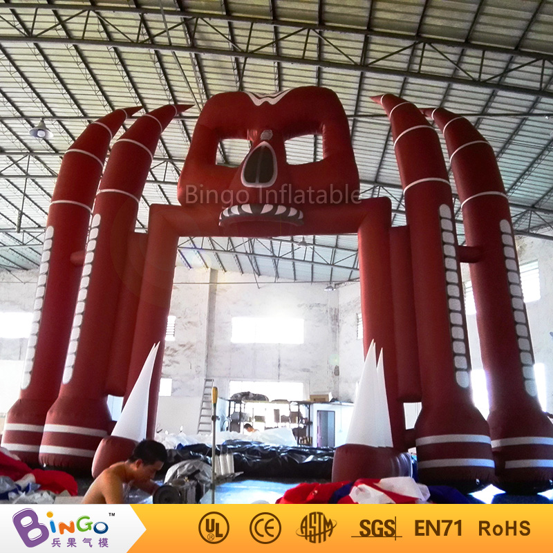 inflatable Halloween ghost arch/Halloween party inflatable arch 16ft.*20ft./W5*H6m BG-A0762 r077 20ft double layer air inflatable arch tent inflatable event arch inflatable arch inflatable start finish line arch