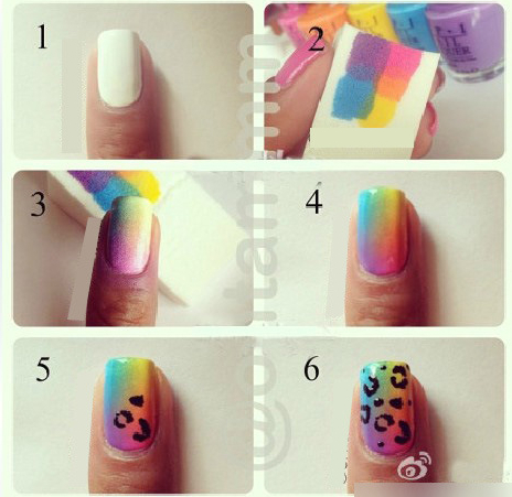 Tools and equipment used for nail art nail art ideas nail art equipment tool finger 8 pcs set diy multi color creative prinsesfo Images