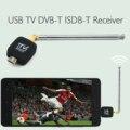 Teléfono móvil dvb-t/isdb-t micro usb adaptador de antena antena de tv sintonizador receptor de bolsillo para el teléfono móvil android equipo tablet