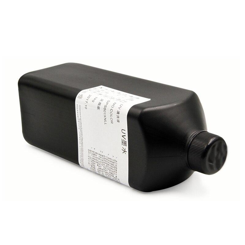 250 ml LED UV impresora tinta recubrimiento líquido para Roland para Mimaki Mutoh Ricoh para impresora UV plana tinta prerevestimiento 500 ml