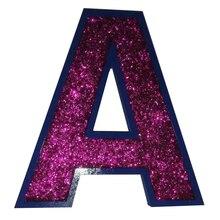 Büyük müstakil mektuplar-El boyalı ahşap harfler-yatak odası dekoru-Kişiselleştirilmiş kreş harfler-Yatak Odası kreş dekor