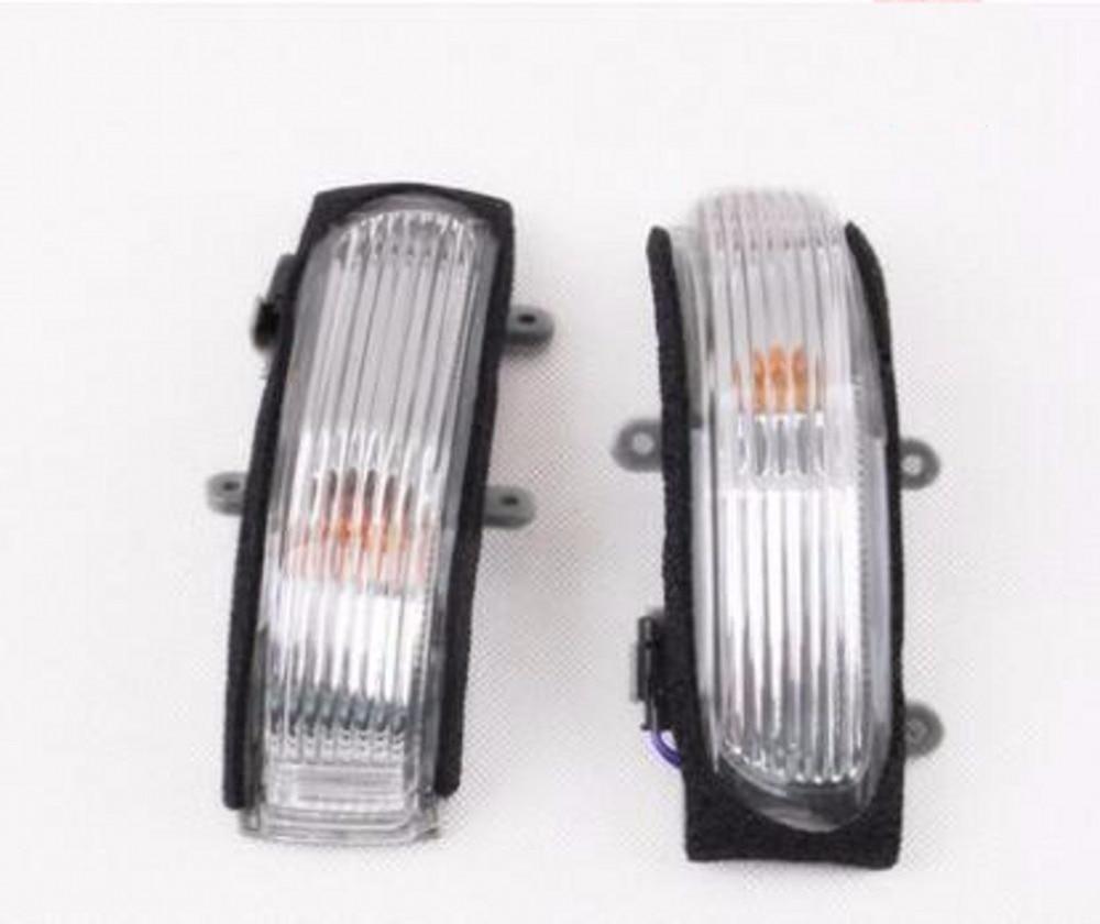 JanDeNing voiture rétroviseur latéral indicateur clignotant lumière L & R pour Toyota Camry 2006-2011/Vios 2008-2013