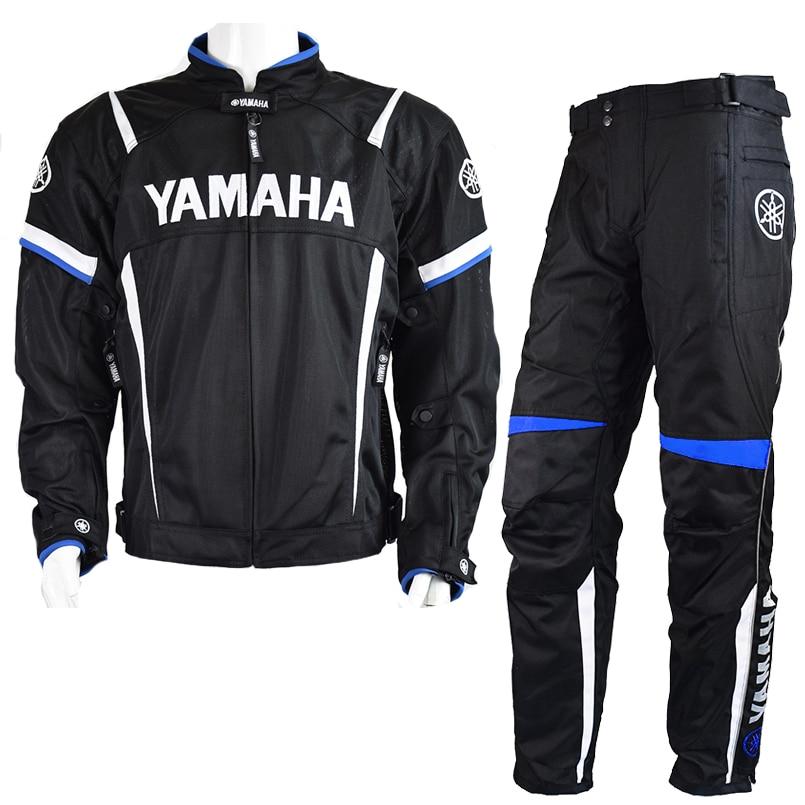 MotoGP 2018 Motorcycle Racing Jackets Pant For Yamaha Team Motorbike Ja