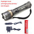 3800LM CREE XM-L T6 5 modes LED Tactical Flashlight Torch Waterproof Lamp Hunting Camping Flash Light Lantern For AAA or 18650