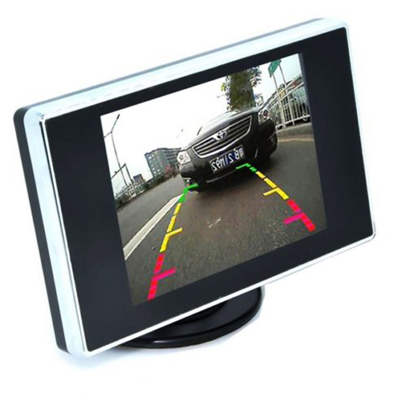 3.5 Cal Mini TFT LCD Monitor samochodowy 3.5