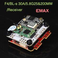 EMAX Original F4 Magnum Torre de Vuelo controlador OMNIBUSF4 Firmware Para Las Carreras de RC Drone
