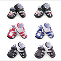 2016 New Fashion Handsome Casual Newborn Baby Boy Kid First Walkers Summer Shoes Rubber Bottom Outdoor Anti-slip Crib Babe Shoes