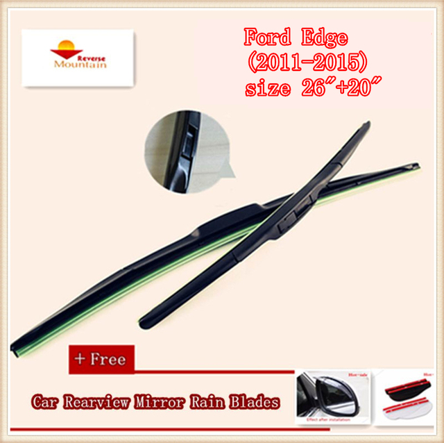 High Quality U Type Universal Car Windshield Wiper With Soft Natural Rubber For Ford Edge