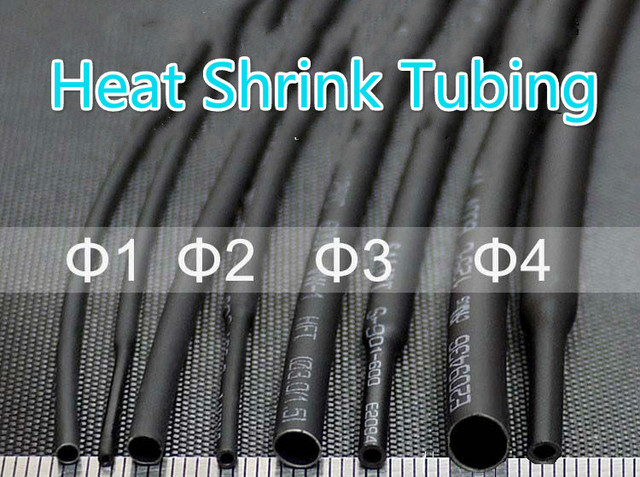 wholesale 8meter black heat shrink tube assorted cable wire wrap rh aliexpress com