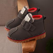 907a1df33e8cc AFDSWG enfants bottes d hiver épais chaud en peluche bottes de neige enfants  gris fille