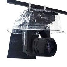 10pcs 5R 7R 빔 LED 이동 헤드 라이트 보호 레인 커버 방수 레인 코트 스노우 코트 야외 쇼 무대 조명