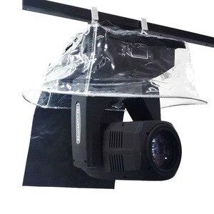 Image 1 - Светодиодный светильник с движущейся головкой 5R 7R, 10 шт., защита от дождя, водонепроницаемый дождевик, пальто для снега, уличное сценическое освещение