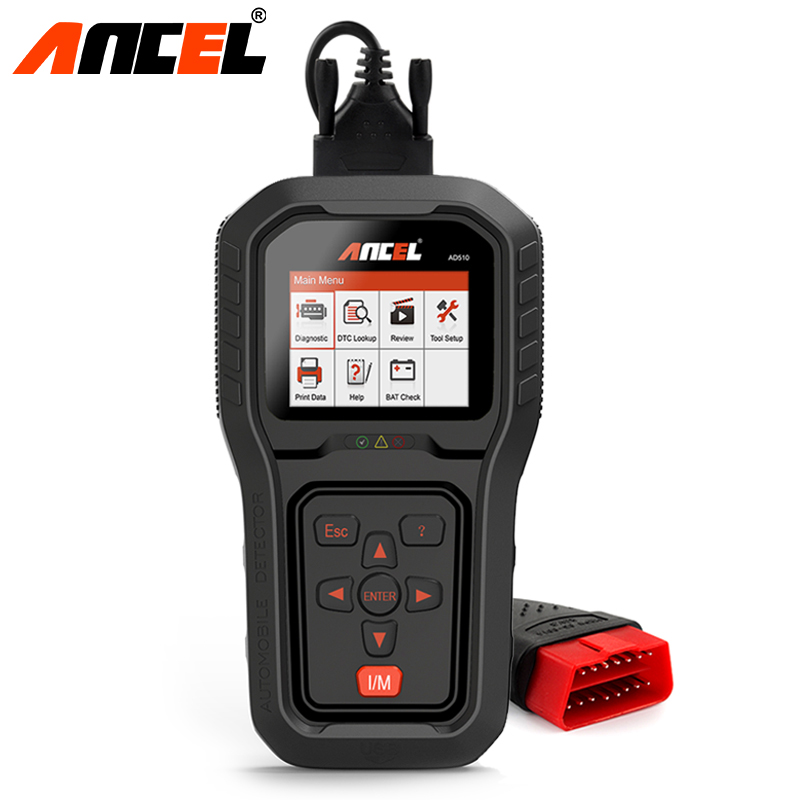 Ancel AD510 Pro OBD2 Car Engine Diagnostic Scanner OBD 2 EOBD Code Reader Scan Tool Multi-languages Automotive Diagnostic Tool code readers scan tools ancel ad510 obdii obd2 scanner automotivo escaner can engine analyzer car code reader diagnostic tool