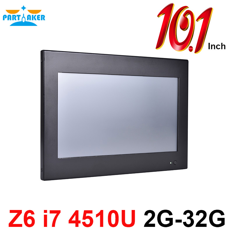 Partaker Z6 10 1 Inch all in one pc with touch screen with Intel Core i7