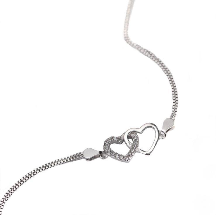 YSP19 donne fine jewelry, un semplice del cuore di amore del braccialetto, semplice e di moda regalo per il vostro amanteYSP19 donne fine jewelry, un semplice del cuore di amore del braccialetto, semplice e di moda regalo per il vostro amante