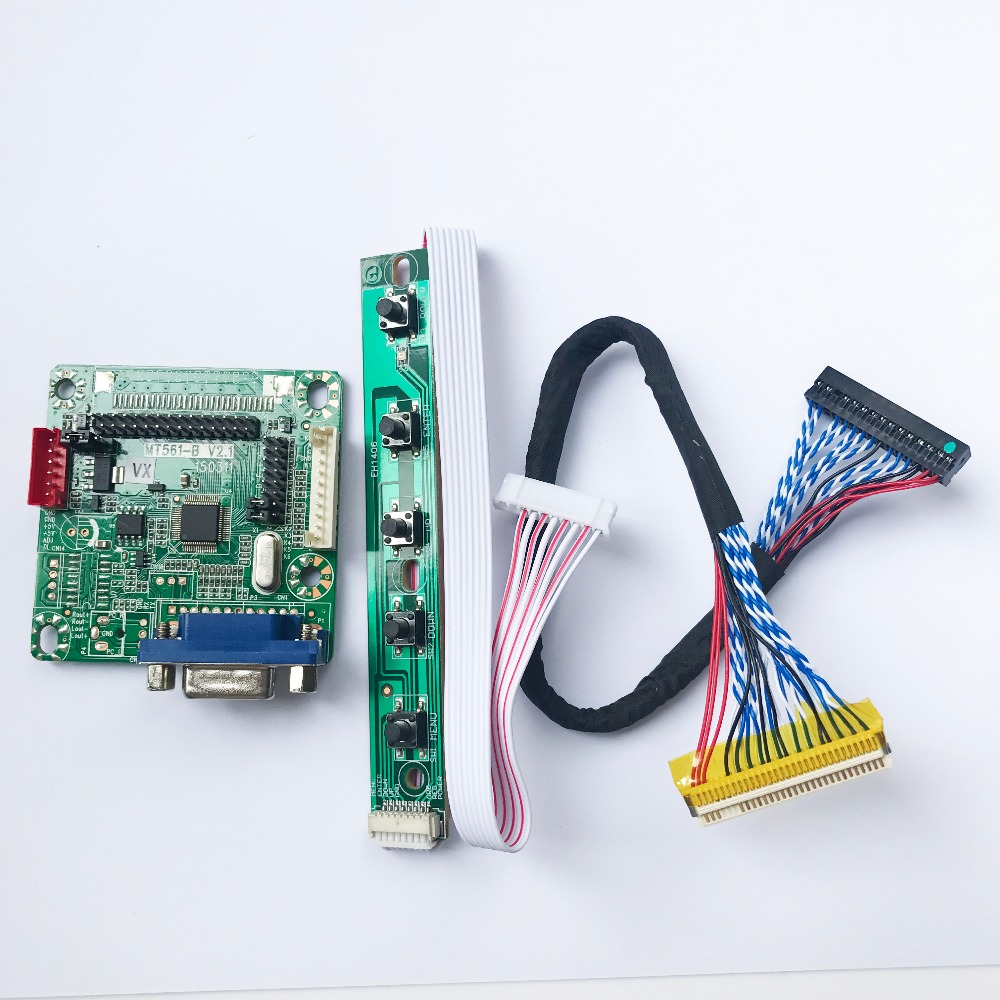 MT561-B 10 Inch To 42 Inch 5V Universal wide LVDS LCD Monitor Driver Controller Board With Cable