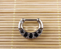New Piercing Navel 316l Surgical Steel Fake Nose Ring Piercing Septum Rings For Clicker Body Jewelry