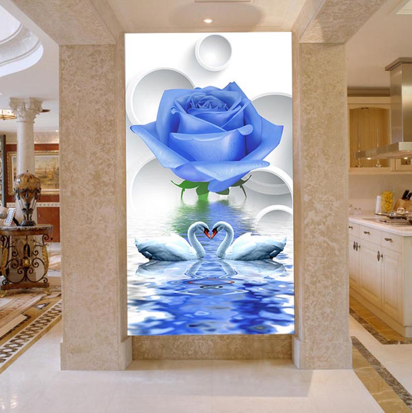 DIY 5D Diamond Painting Swan Eternal Love Round Diamond Painting Cross Stitch Diamond Mosaic Home Decor Diamonds Embroidery