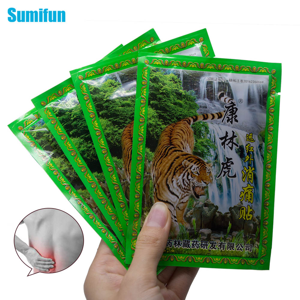Sumifun 8Pcs/Bag Arthritis Joint Pain Rheumatism Shoulder Patch Knee/Neck/Back Orthopedic Plaster Pain Relief Stickers