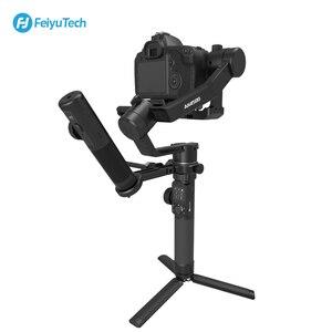 Image 2 - FeiyuTech 3 Axis AK4500 يده Gimbal استقرار عدة ل DSLR كاميرا سوني/باناسونيك/كانون مع البعيد القطب ترايبود اتبع Fcous