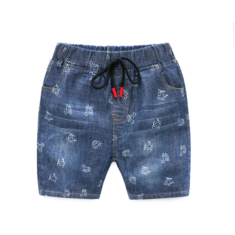 Nuovo 2019 Di Estate Shorts Dei Jeans Infantili Shorts Per Il Ragazzo Fresco Di Stile Denim Dei Pantaloni Del Ragazzo Dei Jeans Corti Per I Bambini Denim Breve 2-6 T Vari Stili