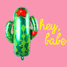 New Arrival 28 CACTUS Balloon for a Taco Party  Mexican Western Decoration Birthday Decorations