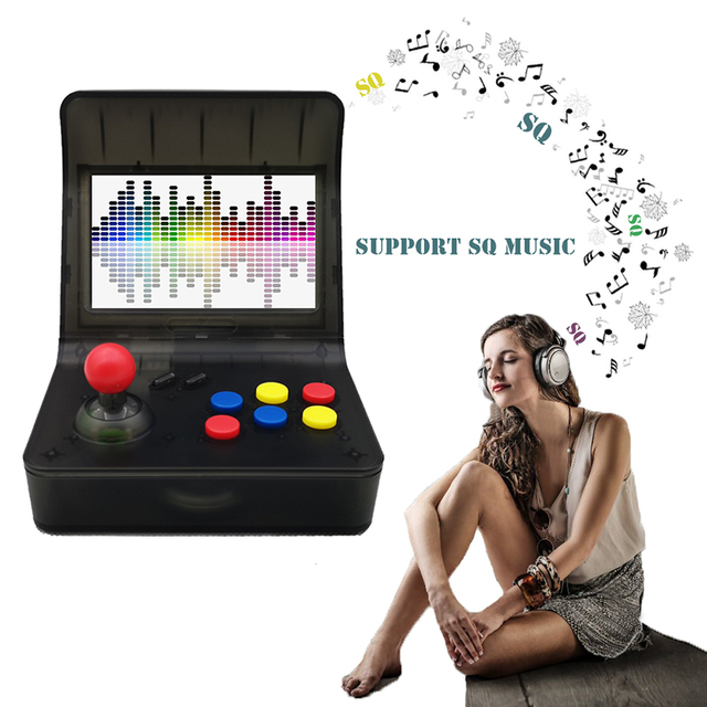 2018 newest Mini handheld Retro game console built in 3000 games rupport rocker control TV output music Family TV game console