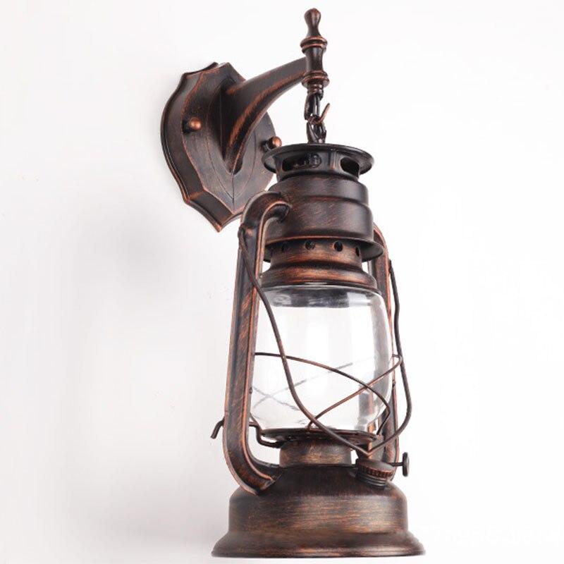 lâmpada de parede lâmpadas querosene do vintage