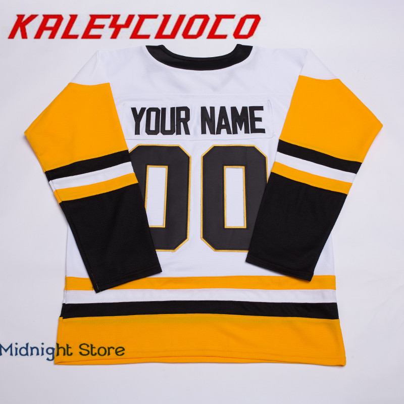 a7a3e08ef Aliexpress.com   Buy High Quality New 30 Matt Murray 59 Jake Guentzel 66  Mario Lemieux Jersey Stitched Logos Name Number Hockey Jerseys from  Reliable hockey ...