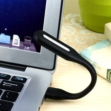 Mini Adjustable Flexible USB LED Light Lamp Powerbank PC Notebook Perfect for Night Working Book Reading Light Lamp(China)