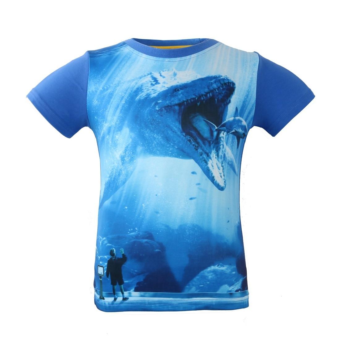 GüNstig Einkaufen 2018 Sommer Kinder Tees Dinosaurier Stil Jungen Kurzarm T-shirts Jurassic Welt Tops T Shirts