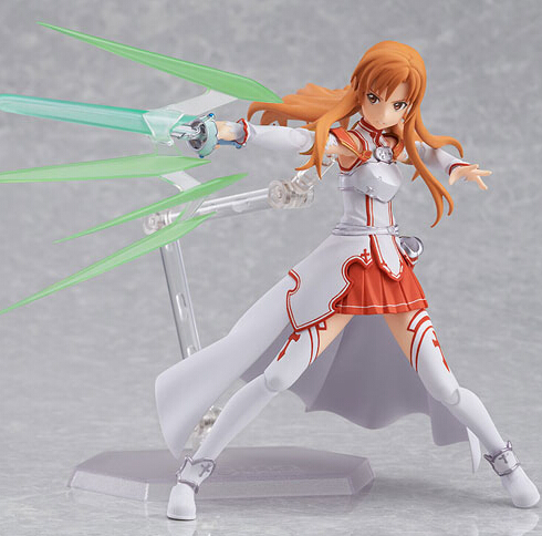 Anime sword art online Figma178 Yuuki Asuna sao new PVC Action Figure Collection Model Toys Doll 15cm  -  Lucy Anime store