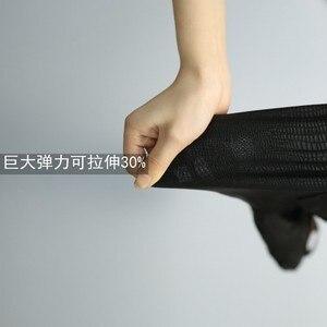Image 5 - קוריאני אופנה גברים מכנסיים גבוהה אלסטי דק רך עירום ללבוש Experienc חותלות שיער מעצב מכנסי עיפרון ישר סקיני מכנסיים